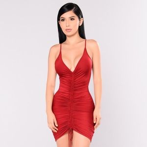 Shanghai Ruched Dress